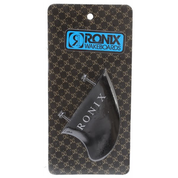 Ronix Fiberglass Hook Surf Edition Fin Black 3.5In