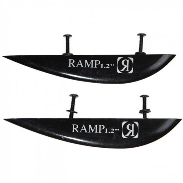 Ronix Fiberglass Ramp Fin (2 Pack) Black 1.2