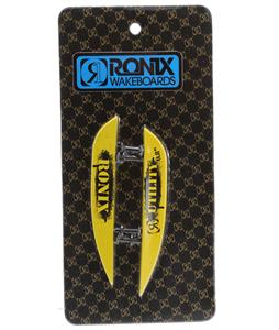 Ronix Fiberglass Utility (2 Pack) Fins Gp Yellow .8In