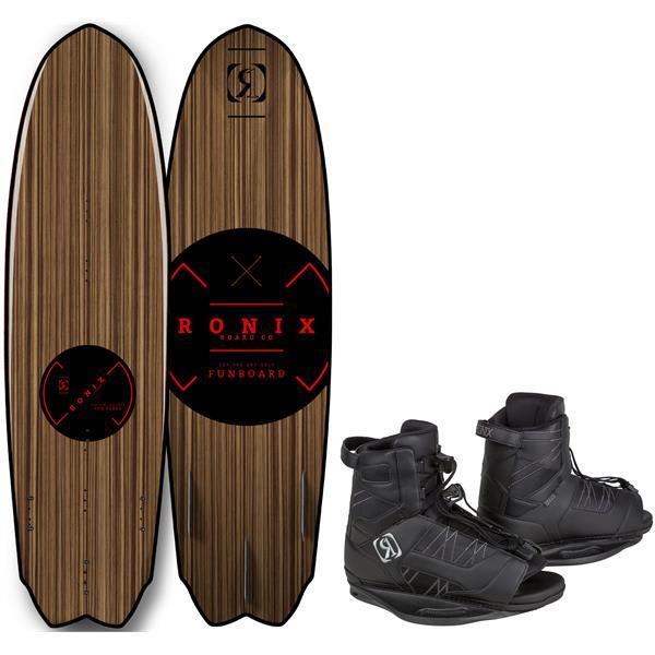 Ronix Fun Board Wakeboard w/ Divide Bindings