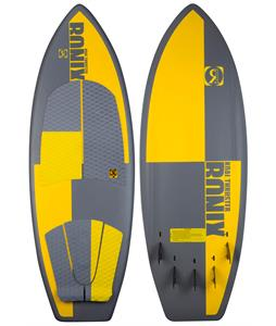Ronix Koal Thruster Blem Wakesurfer Matte Grey/Yellow 5ft 1in