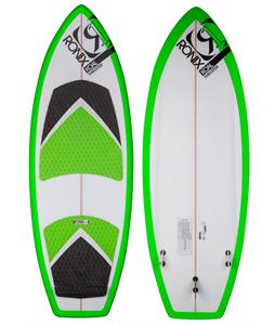 Ronix Koal Thruster Wakesurfer Blank White/Key Lime