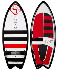 Ronix Koal Fish Wakesurfer Black/Red/White w/ Lights 5Ft