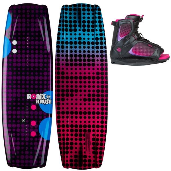 Ronix Krush Wakeboard w/ Luxe Boots