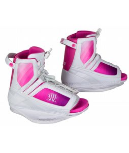 Ronix Luxe Wakeboard Bindings White/Pink/Purple