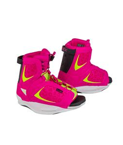 Ronix Luxe Wakeboard Boots Flamingo Highlighter