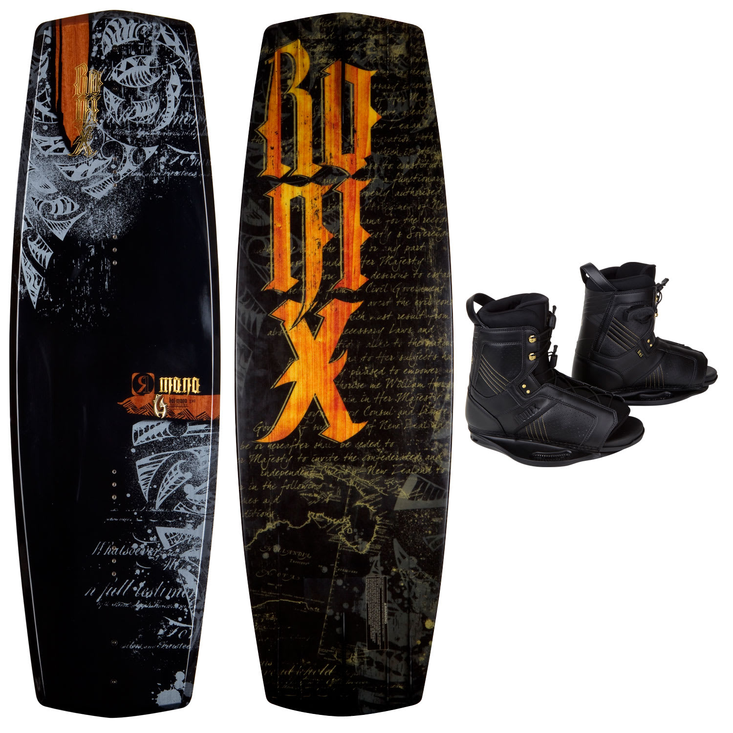 Ronix Mana Wakeboard 139 w/ Kai O/T Boots - Men's