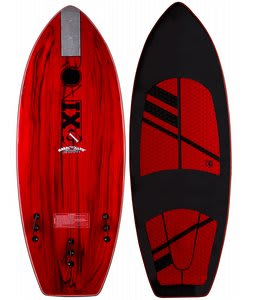 Ronix MarshMellow Thrasher Wakesurfer Paint Drip Red/Black 5Ft 2In