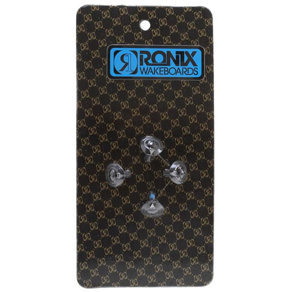 Ronix Metric M6 Phillips Head Mounting Hardware w/ Washer (Set Of 4) Black Oxide