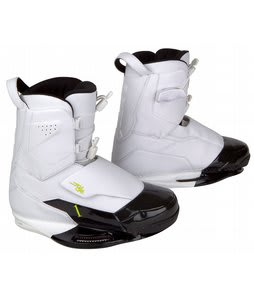 Ronix One Wakeboard Boot White/Black Patent Intuition