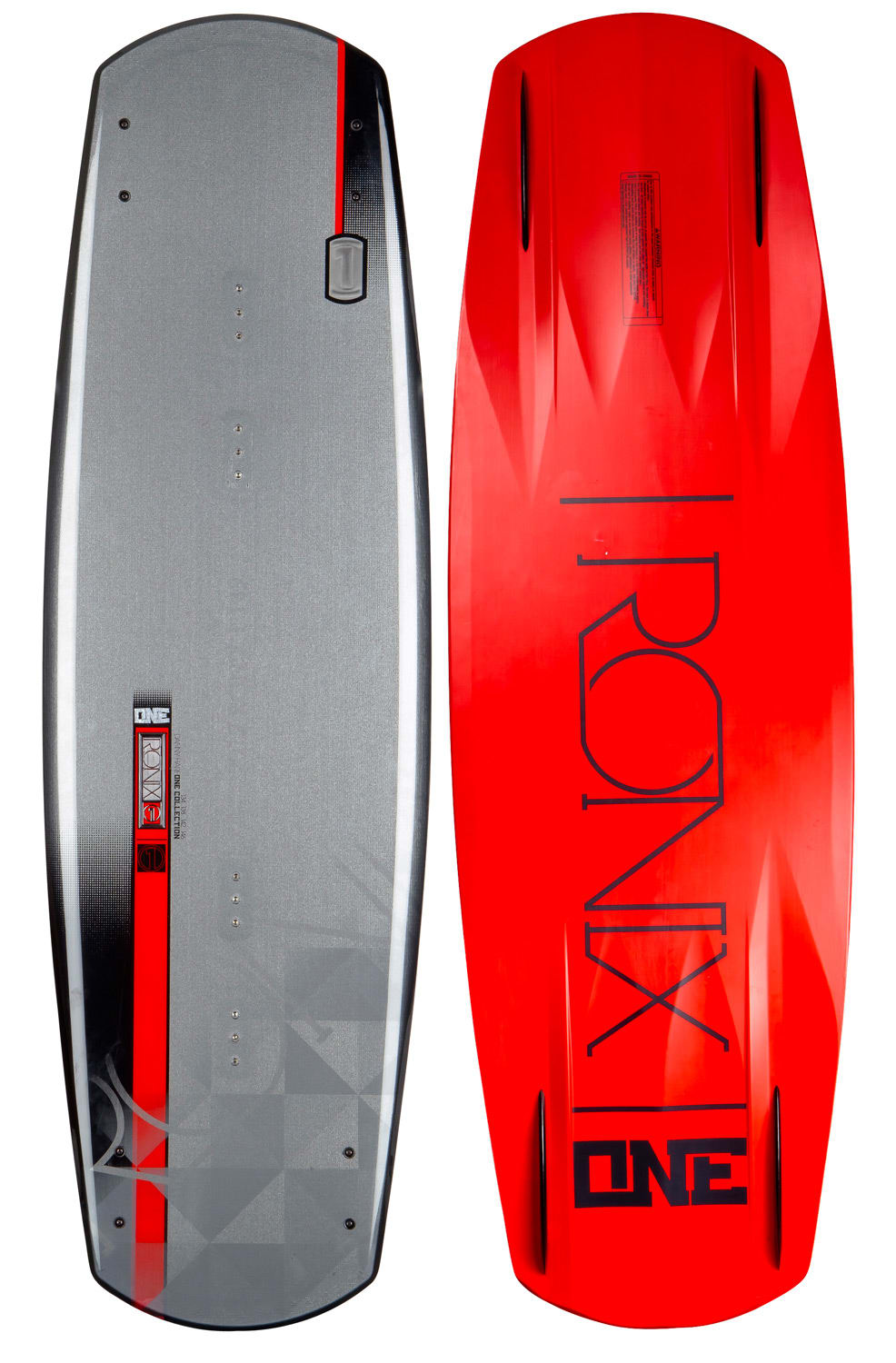 Ronix One Time Bomb Wakeboard Chromium Carbide 138