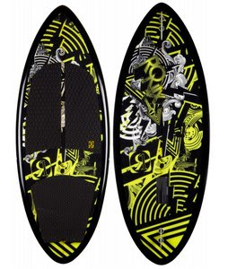 Ronix One Skimmer Wakesurfer Black/Gp Yellow 4ft 10in