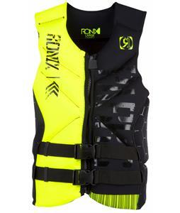 Ronix Parks Capella CGA Wakeboard Vest Black/Neon Butter