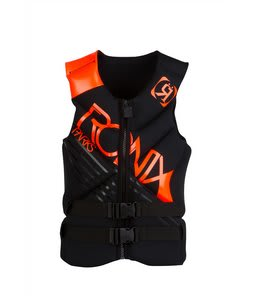 Ronix Parks Capella CGA Wakeboard Vest Black/The Juice