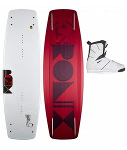 Ronix Phoenix Project Wakeboard White 137 w/ Preston Bindings