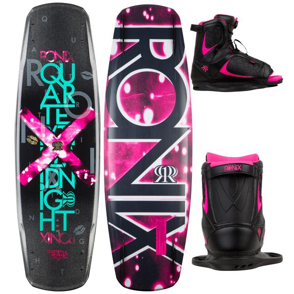 Ronix Quarter Til Midnight Wakeboard w/ Luxe Boots