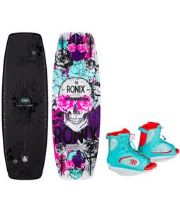 Ronix Quarter 'Til Midnight Wakeboard w/ Luxe Bindings