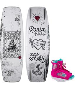 Ronix Quarter'Til Midnight Wakeboard w / Luxe Bindings