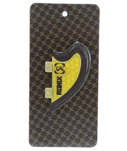 Ronix Slayter Fiberglass Bottom Mount Surf Fin Yellow 2.3In