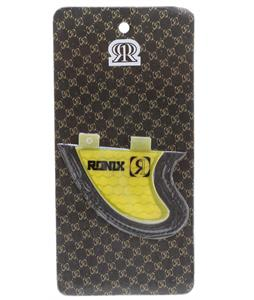Ronix Slayter Fiberglass Bottom Mount Surf Fin Yellow 2.9In