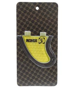 Ronix Slayter Fiberglass Bottom Mount Surf Fin Yellow 3.7In