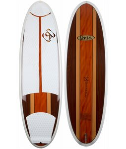 Ronix The Duke Longboard Wakesurfer Tri Color Wood 5ft 5in