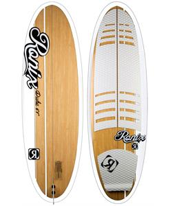 Ronix The Duke Longboard Wakesurfer Bamboo/Black/White 6Ft 1In