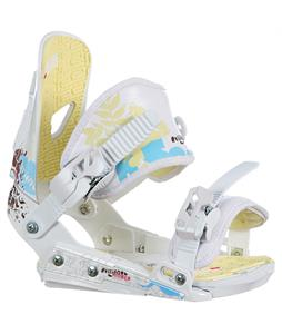 Rossignol Amber Hc Snowboard Bindings White/Beige