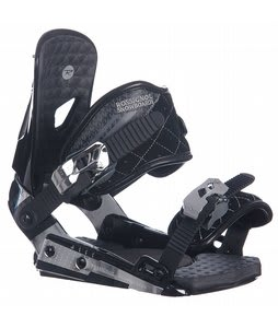 Rossignol HC2000 Snowboard Bindings Black/Silver