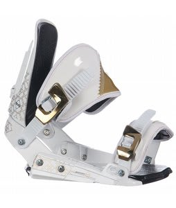 Rossignol HC2000 Snowboard Bindings White/Gold