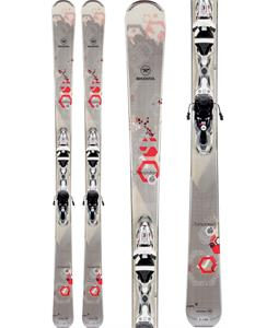 Rossignol Temptation 84 Skis w/ Xelium Saphir 110 Bindings