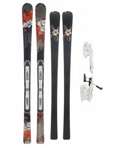 Rossignol Attraxion III Echo Wtpi2 Skis w/ Saphir 110L Bindings