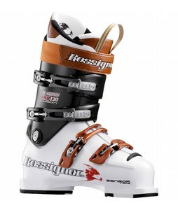 Rossignol B-Squad Pro 130 Carbon Ski Boots Wht/Ant