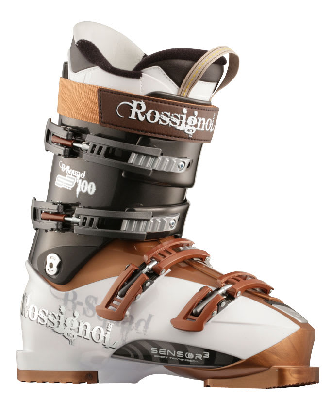 Shop for Rossignol B-Squad Sensor 80 Ski Boots White/Ant - Men's