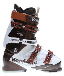 Rossignol B-Squad Sensor 90 Ski Boots White/Brown