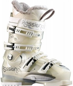 Rossignol Electra Sensor3 80 Ski Boots White Transparent