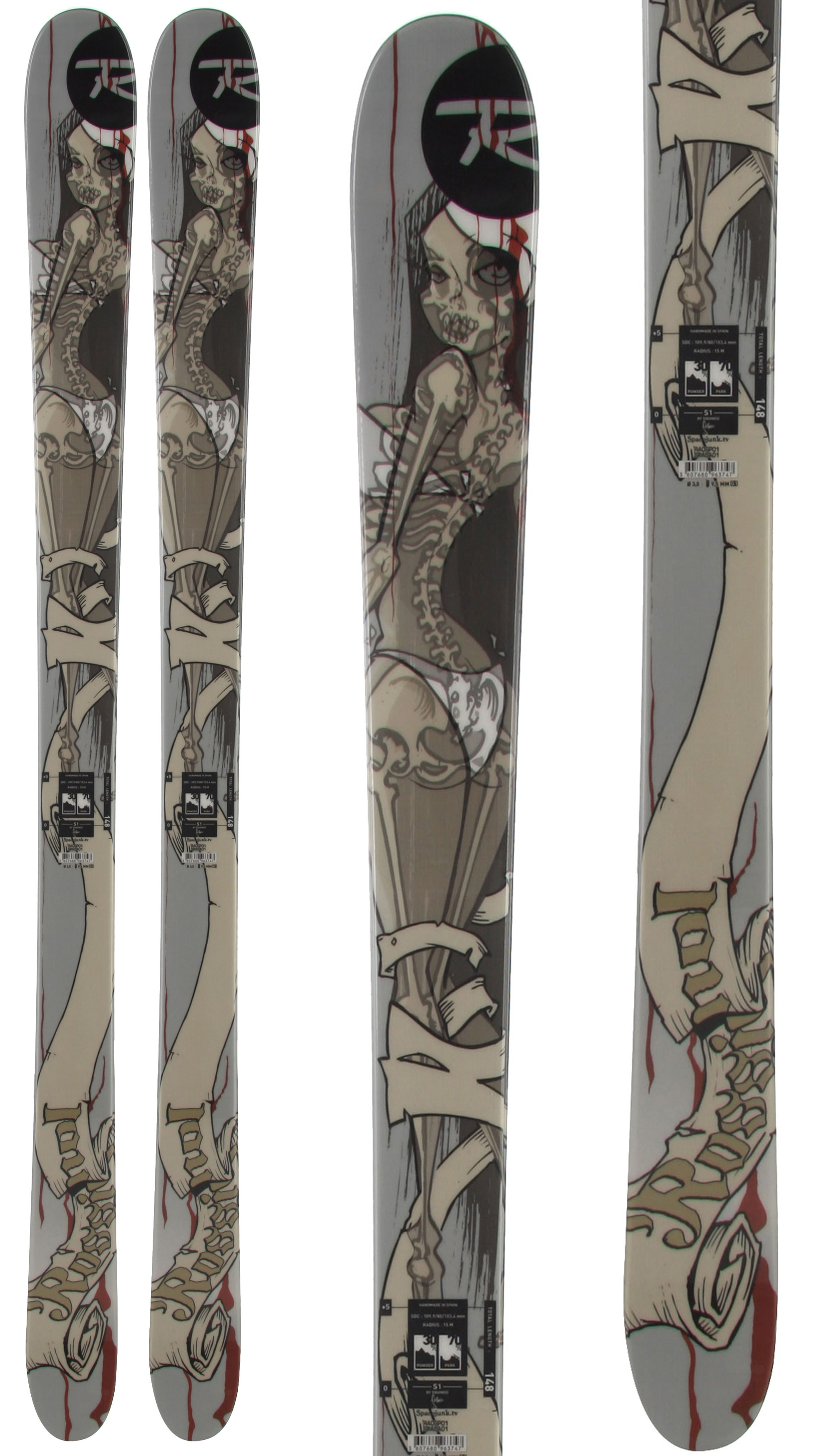 Shop for Rossignol S1 Jib Skis - Kid's