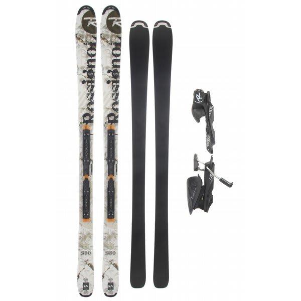Rossignol S80 Freeride Skis w/ Axium 120L Tpi2 Black Bindings
