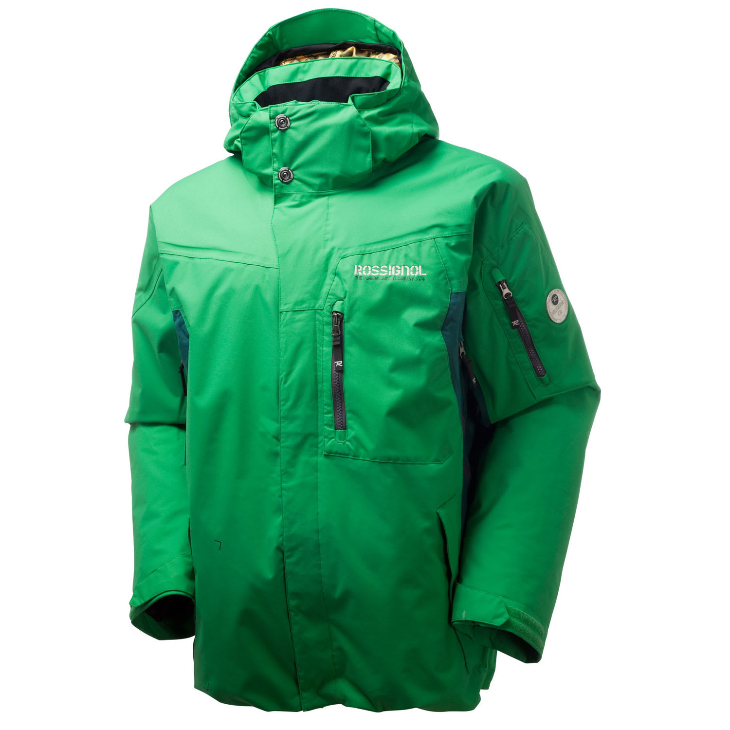 Shop for Rossignol Typhoon Ski Jacket Green - Men's