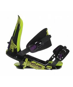Rossignol Viper V1 Snowboard Bindings Black/Lime