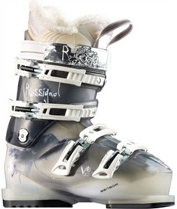 Rossignol Vita Sensor 60 Ski Boots Black Transparent
