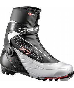 Rossignol X7 Skate Cross Country Ski Boots Black/Silver