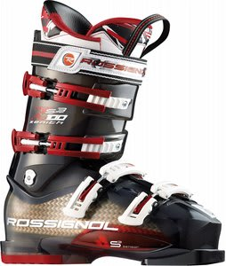 Rossignol Zenith Sensor3 100 Ski Boots Black Transparent