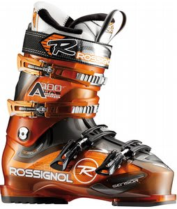 Rossignol Alias Sensor 100 Ski Boots Orange Transparent