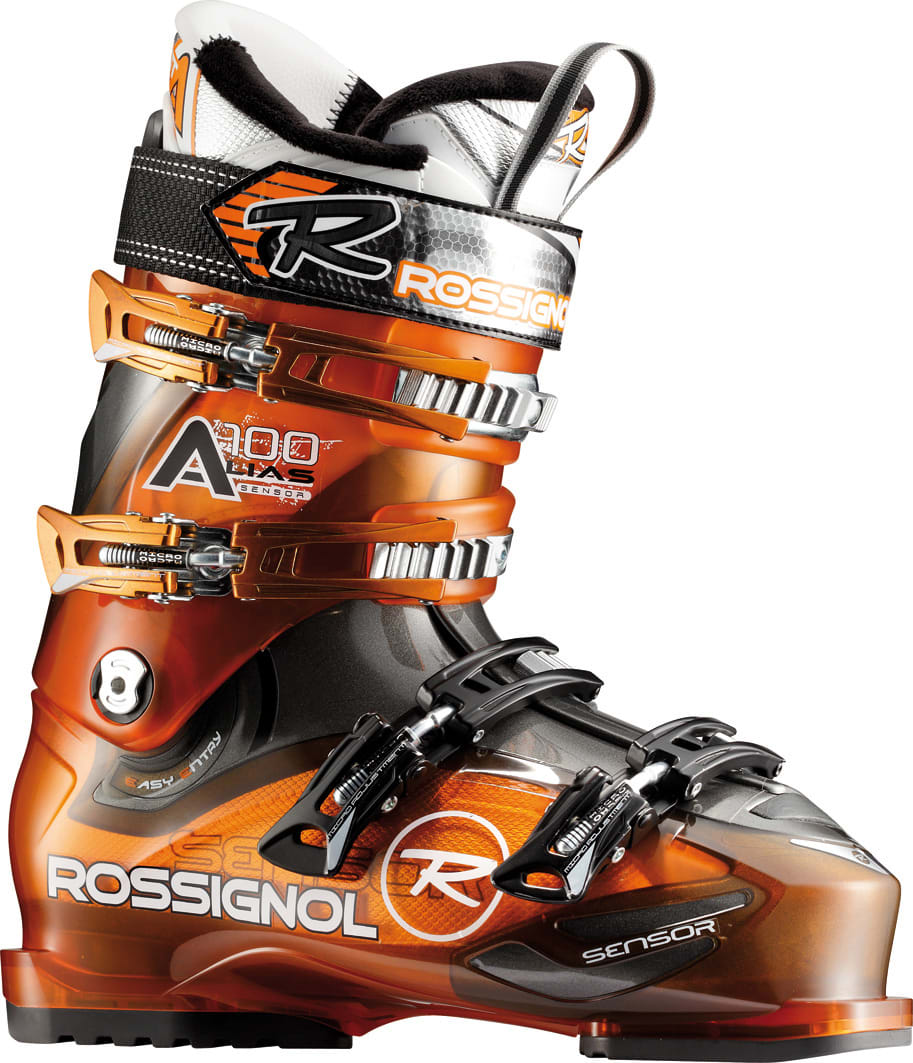 Shop for Rossignol Alias Sensor 100 Ski Boots Orange Transparent - Men's