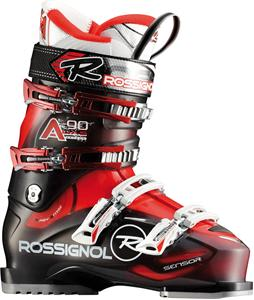 Rossignol Alias Sensor 90 Ski Boots Transparent/Red