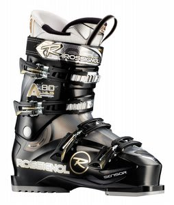 Rossignol Alias Sensor 80 Ski Boots Black Transparent