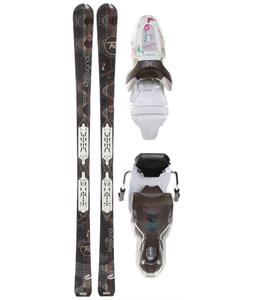 Rossignol Attraxion 3 Echo Skis w/ Xelium Saphir 110S Bindings