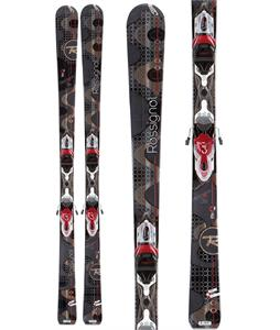 Rossignol Attraxion 3 Echo Xelium Skis w/ Saphir 110S