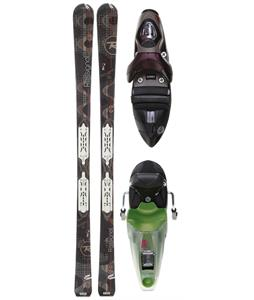 Rossignol Attraxion 3 S Echo Skis w/ Xelium Saphir 110S Bindings